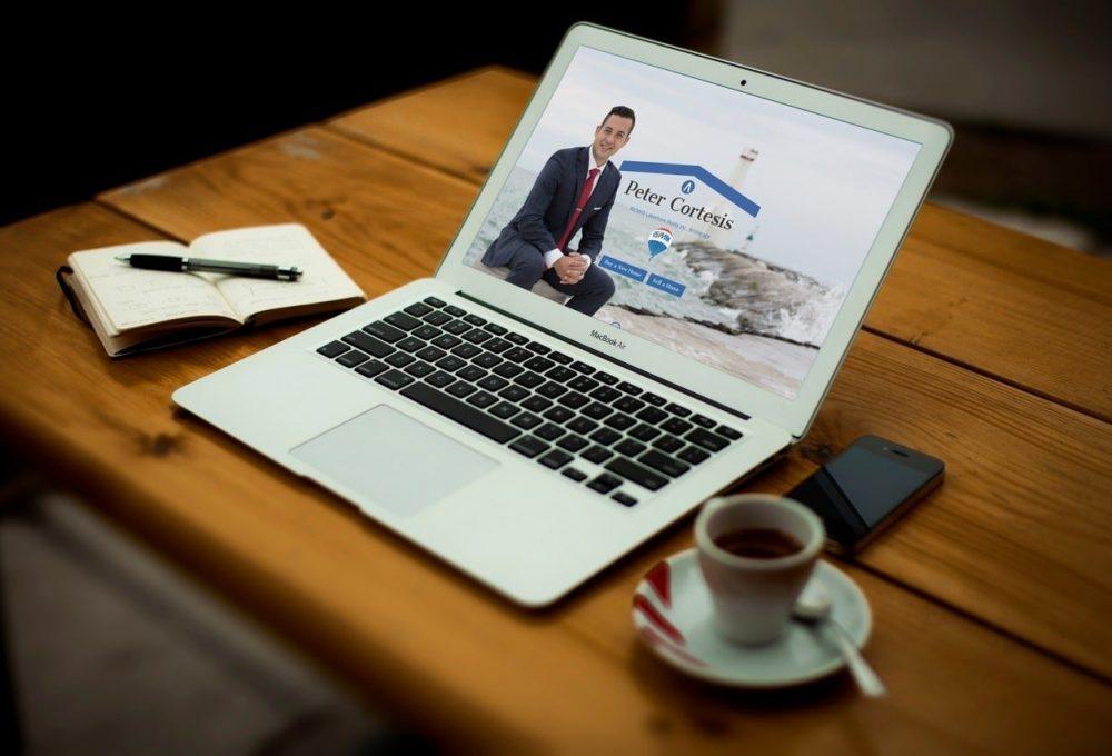 Website for Peter Cortesis in Cobourg, Ontario.
